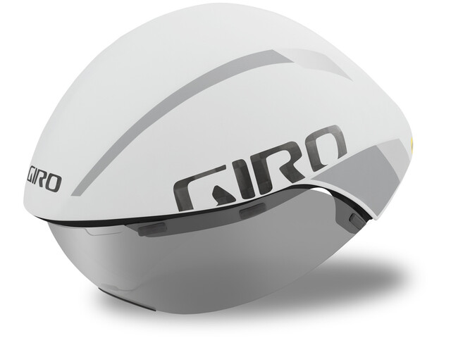 Giro Aerohead Ultimate MIPS Kask rowerowy, matte white/silver